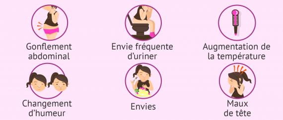 Les 10 premiers signes d'une grossesse - Rêves de Libellule